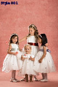 Flower girl dress #801